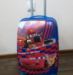 Children's suitcases. Models and colors are different.