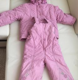 Children's suit for the girl