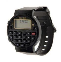 Часы наручные с силиконовым ремешком, электронные
