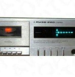 Cassette tape recorder Yauza 220