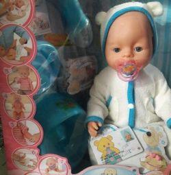 Λειτουργικές κούκλες μωρών, διαδραστικές, νέες