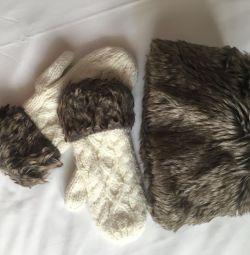 Καπέλο + γάντια