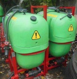E20 field sprayer