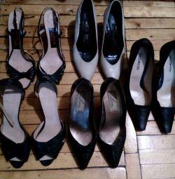 Pantofi și sandale din URSS
