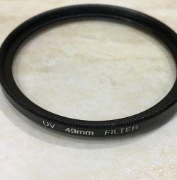 49mm UV filtresi
