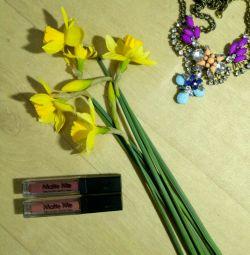 Persistent matte lipstick
