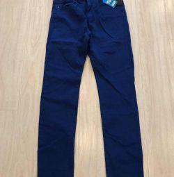 Новые джинсы для мальчика рост 170!