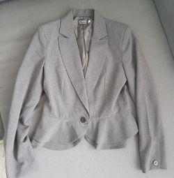 Жакет 46 серый