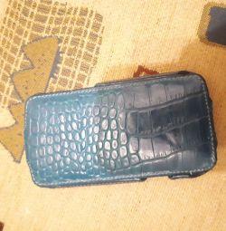 Чехол HTC sensation XL кожа натуральная