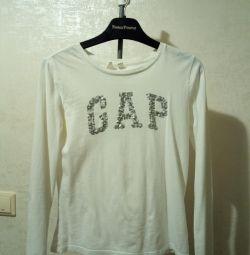 Tricou cu mânecă lungă pentru copii Gap 9-13 ani