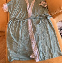 Βαμβακερό πουκάμισο και φόρεμα 52 r