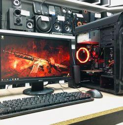 Комплект для игр AMD FX-4300/RX550 2Gb/DDR3 8Gb