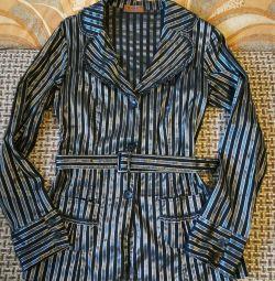 Блузка жіноча з поясом 44-46 розмір