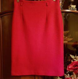 Φούστα κόκκινο