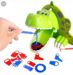 Настільна гра Голодний Динозаврик