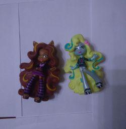 Doll vinyl monster high Laguna Blue, Claudine woo