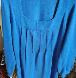 Tunik, kısa bir elbise olarak giyilebilir