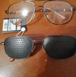 Glasses for vision correction and anti-headlights