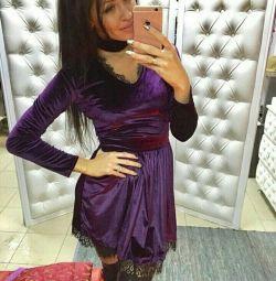 Новые бархатные платья