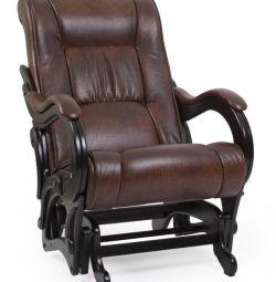 Κουνιστή καρέκλα σκοτεινή