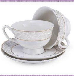 Set de perechi de ceai