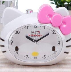 Alarm clock hello kitty