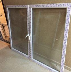Metal-plastic window