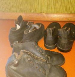 Армейские ботинки