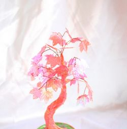 Розовое дерево пайетки