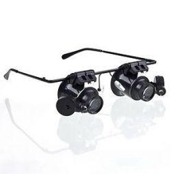 Magnifying Glass Magnifier Glasses with Backlight 20 X