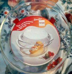 Посуда для запекания в микроволновке и в духовке