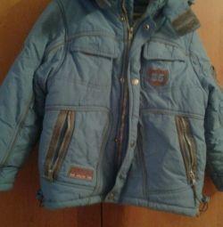 Χειμερινό σακάκι για ένα αγόρι