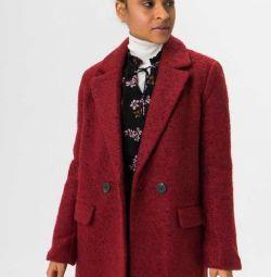 Μάλλινο διπλό παλτό