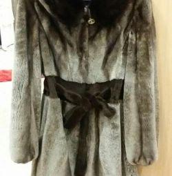 fur coat (sheared mink)