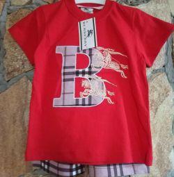 Costume pentru copii Scurte și tricou.