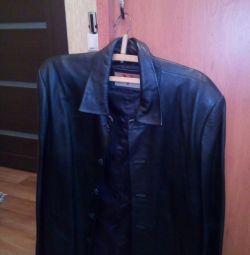 Jachete pentru bărbați (din piele)