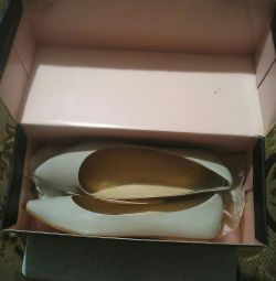 Completely new ballet flats