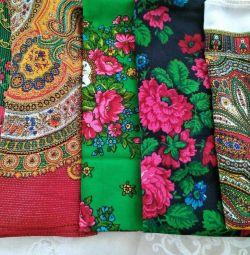 Colored handkerchiefs