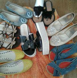 Ayakkabı yaz.