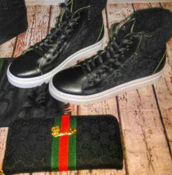 Ανδρικά πάνινα παπούτσια της Gucci