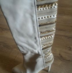 Wedding boots Paolo Conte
