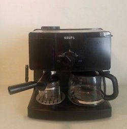 KRUPS XP1500 Coffee Maker & Espresso Machine Combination