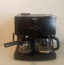 KRUPS XP1500 Kahve Makinesi ve Espresso Makinesi Kombinasyonu