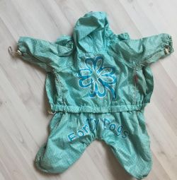 Jumpsuit raincoat worn york