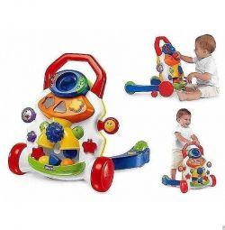 Bebek yürüyüşe tekerlekli sandalye chicco 2