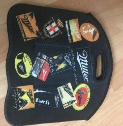 Handbag for beer or bottles