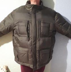 Men's winter down jacket
