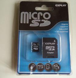 Εκθέστε κάρτα μνήμης 2GB