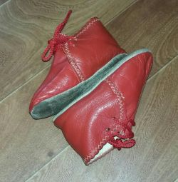 Booties genuine leather