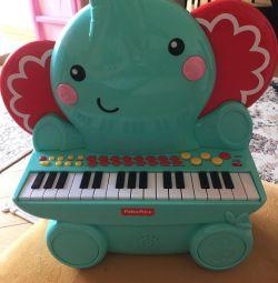 Τιμή ελέφαντα για πιάνο Fisher